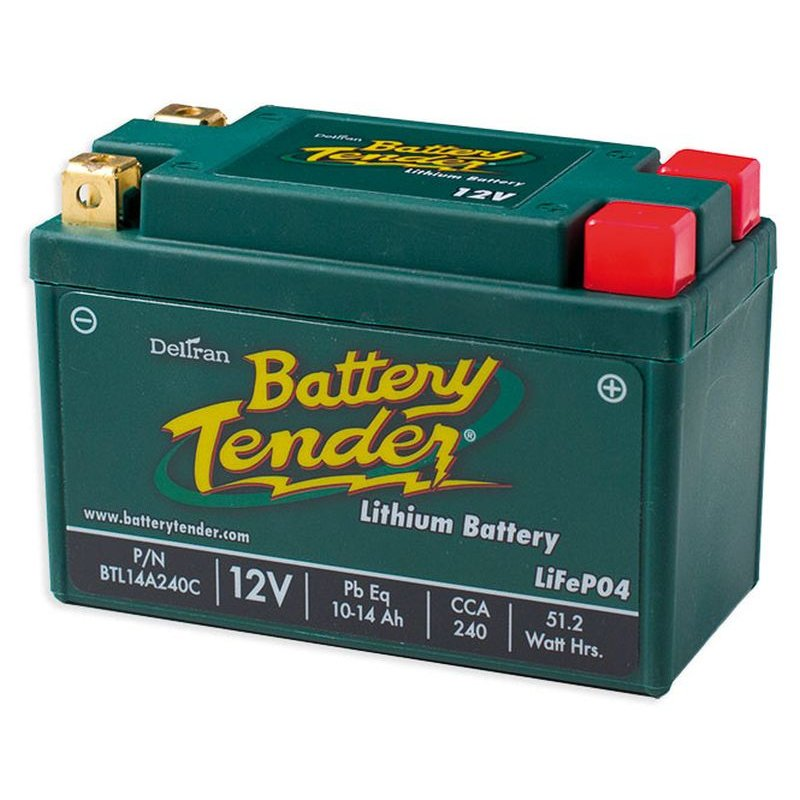 , Battery, Lithium, 10-14Ah, 12V, LCA = 240A , LxWxH = 134x65x92 mm CCE-890451
