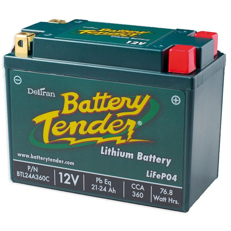 , Battery, Lithium, 21-24Ah, 12V, LCA = 360A , LxWxH = 165x86x130 mm CCE-890453