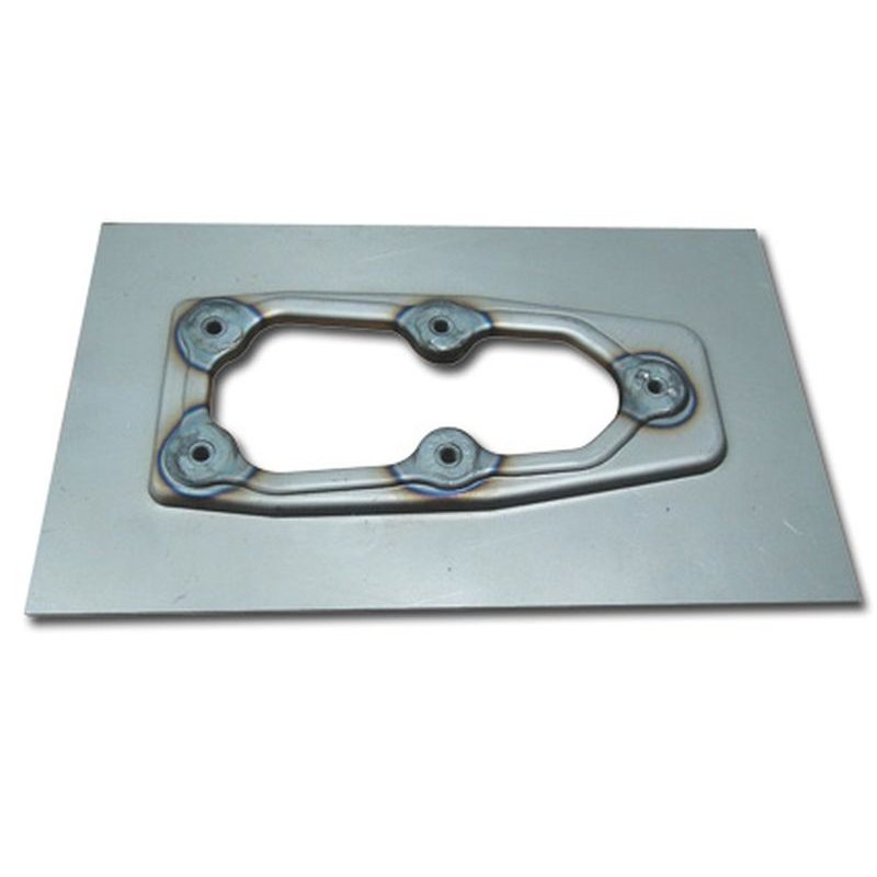 Weld-in EFI plate CCE-653105