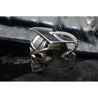 opus eximium by Dr. Koster Customs - DKC-Skull Ring, 925er Sterlingsilber